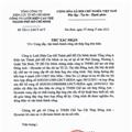 Certified letter of Ho Chi Minh High Voltage Power Grid Company